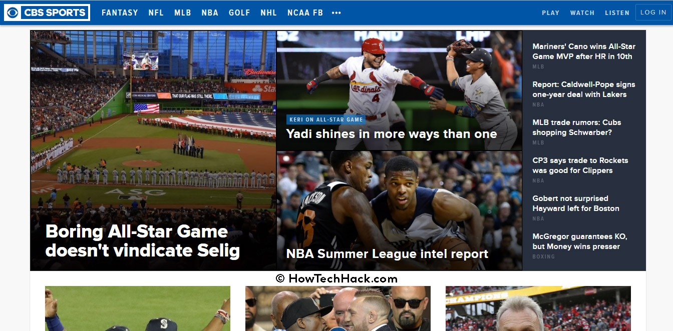Top 10 Best Free Sports Streaming Sites 2017