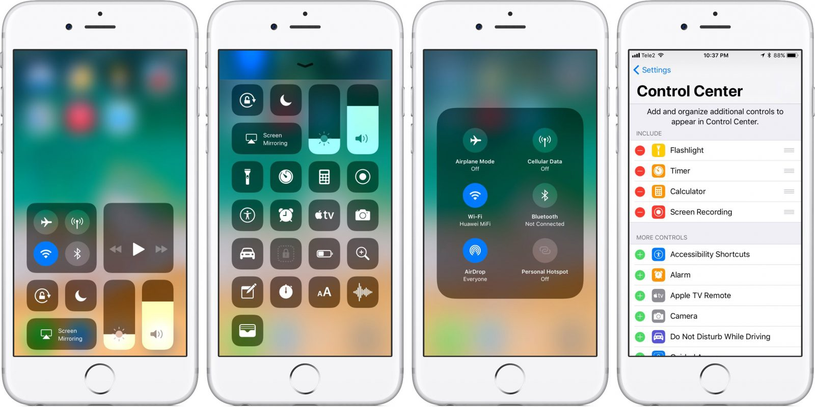 Notifications and Redesigned Control Center