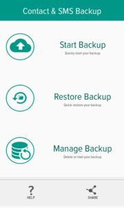 backup Android Contacts & SMS to Computer