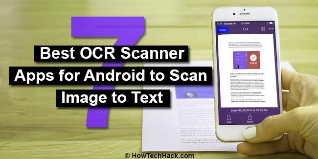 OCR Scanner Apps