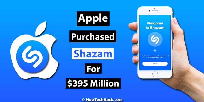 Apple Is Likely To Purchase Shazam For $395 Million