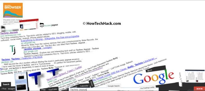Zero Gravity Google