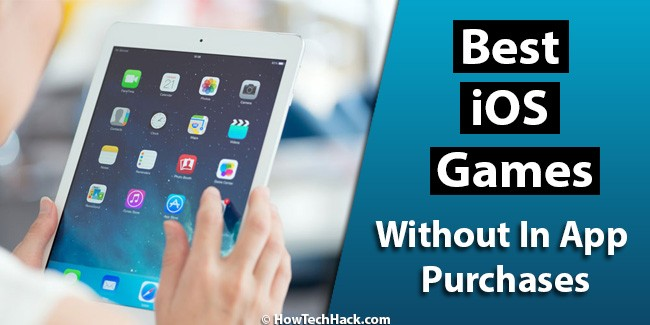 iOS Games Without In App Purchases