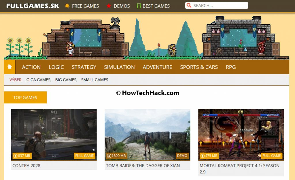 top 10 sites to download free pc games