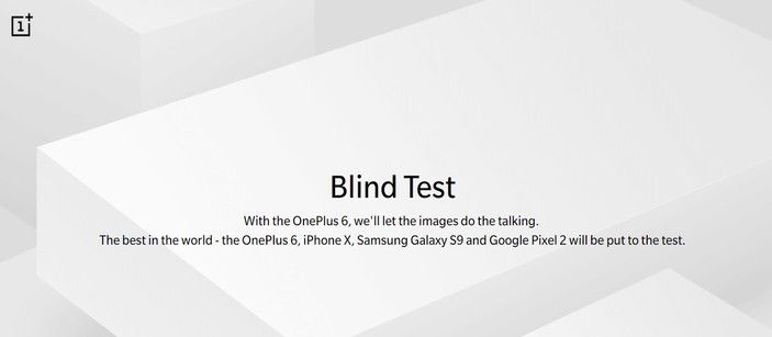 Win a OnePlus 6 in OnePlus 6 Blind Test Contest