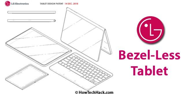 LG Bezel-Less Tablet