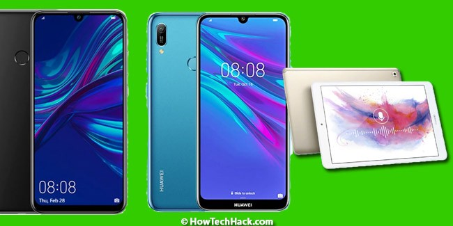 Huawei Enjoy 9s, Enjoy 9e and M5 Youth Edition Tablet