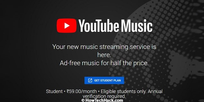 YouTube Student Plans
