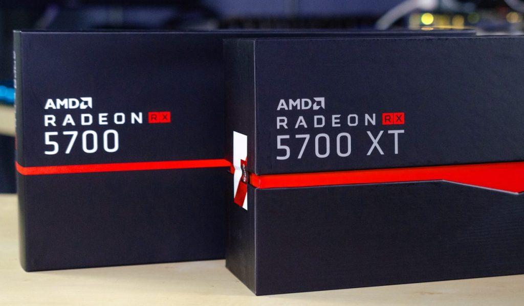 Radeon RX 5700 XT GPU and RX 5700 GPU