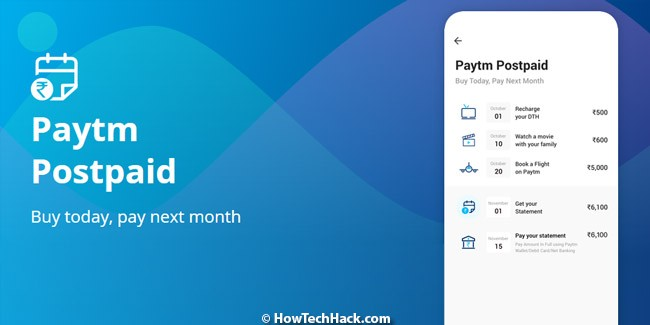 Paytm Postpaid is Active & In Use