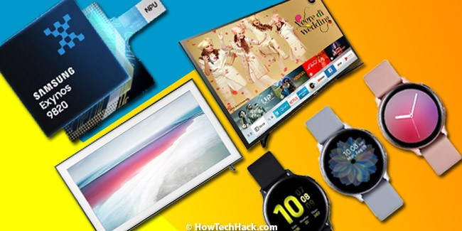 Samsung Launches Watch Active 2, Exynos 9825 Chipset & Two New TVs in IndiaSamsung Launches Watch Active 2, Exynos 9825 Chipset & Two New TVs in India