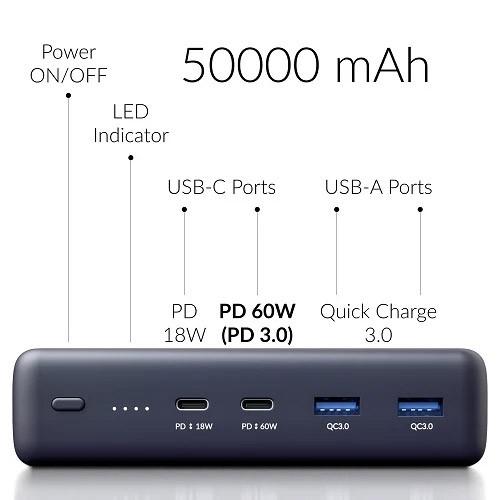 Crave PowerPack 2 50000 mAh