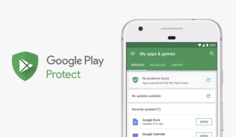 Google Play Protect Service is certified to protect from Malware attacks to your phone!