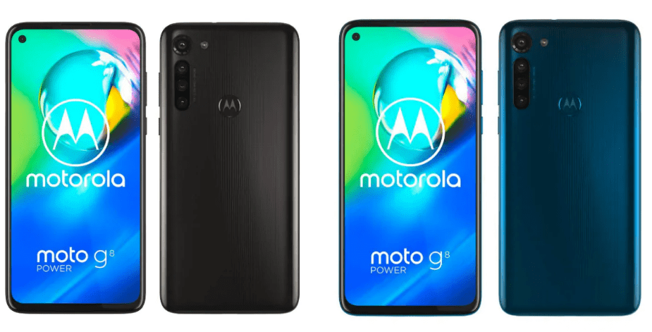 Moto G8 Power in two colour variants