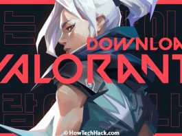 How To Download Valorant