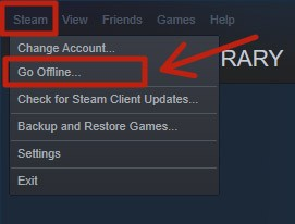 Reconnect to the Steam client