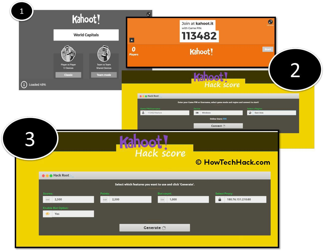 Kahoot Hack & Cheats | Create Unlimited Points & Pin 2017