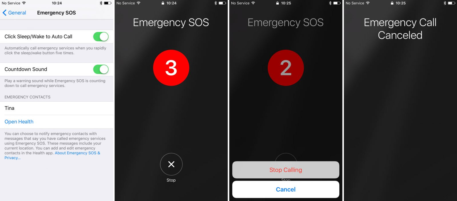 Emergency SOS Feature