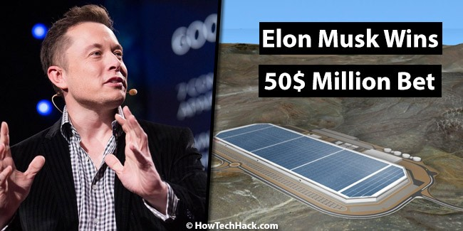 Elon Musk Wins 50$ Million Bet