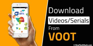 Download Videos From Voot