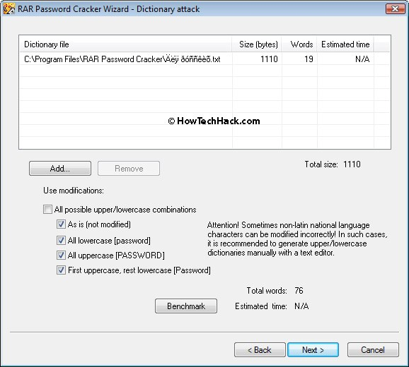download rar password unlocker