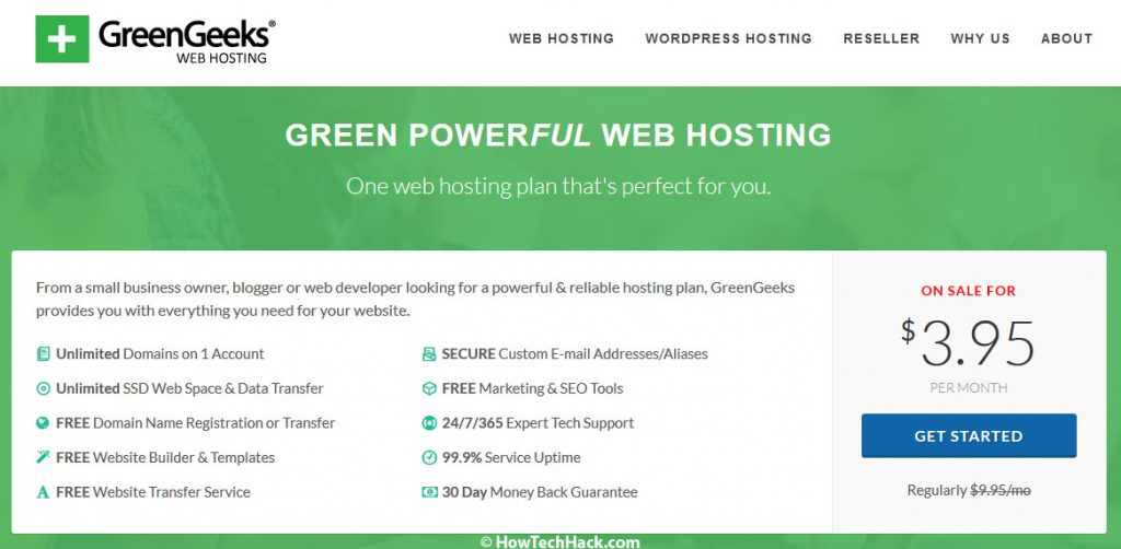 eco-friendly web hosting