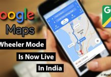 Google Map's Two Wheeler Mode Is Now Live In India