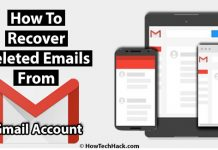 How To Recover Deleted Emails From Gmail Account