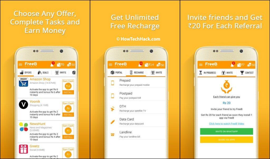 best recharge app in india