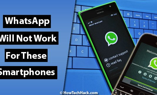 WhatsApp Will Not Work For These Smartphones Users After December 31