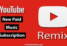 YouTube to Launch New Paid Music Subscription Service in March 2018