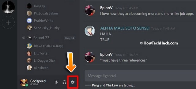 discord force push to talk