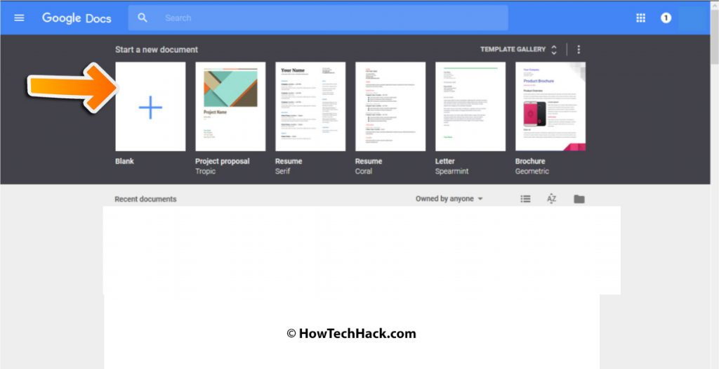 how to change header margins in google docs