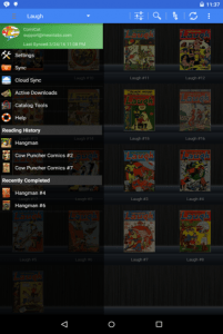 comic book reader android apk