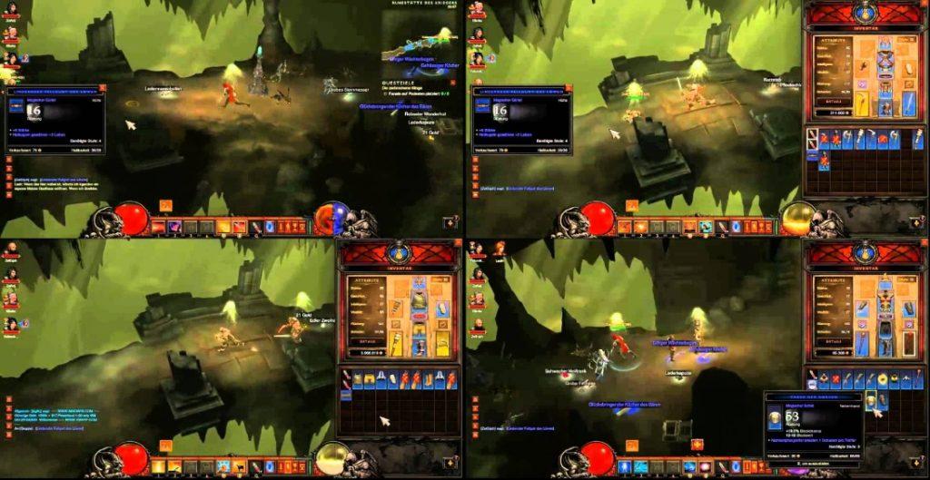 Split Screen PS4 Games