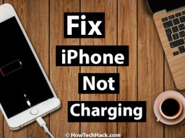 Fix iPhone Not Charging
