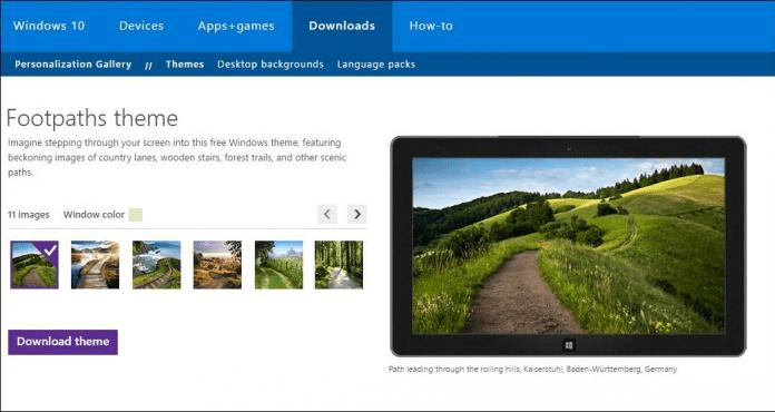 Windows 10 Skins