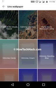 Google Pixel Live Wallpapers