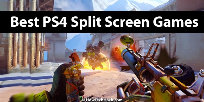 PS4 Split Screen Games