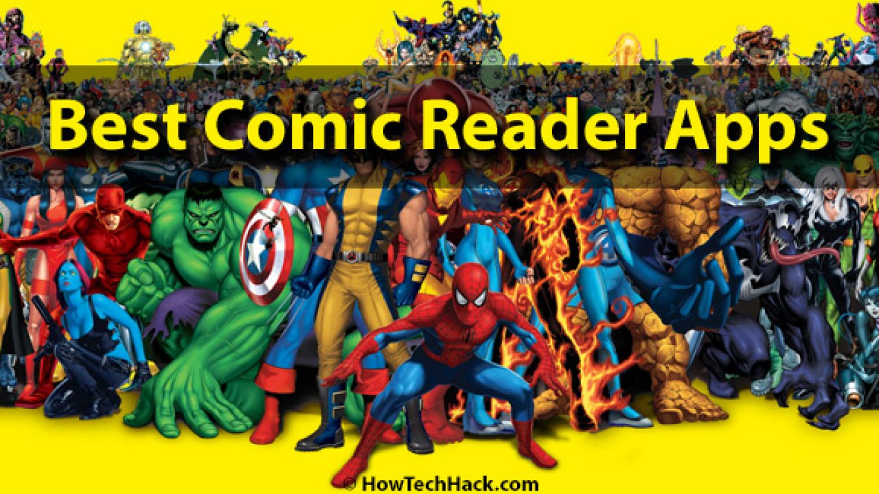 Top 10 Best Comic Reader Apps For Android In 2018 (Online Free)