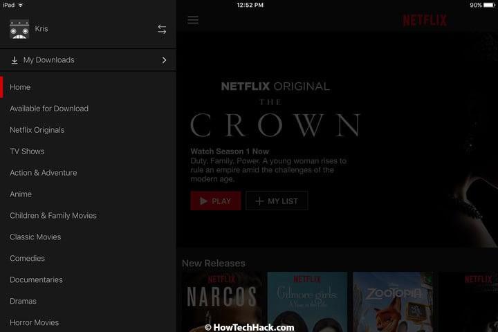 netflix download offline viewing