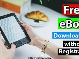 Free eBook Download Sites without Registration