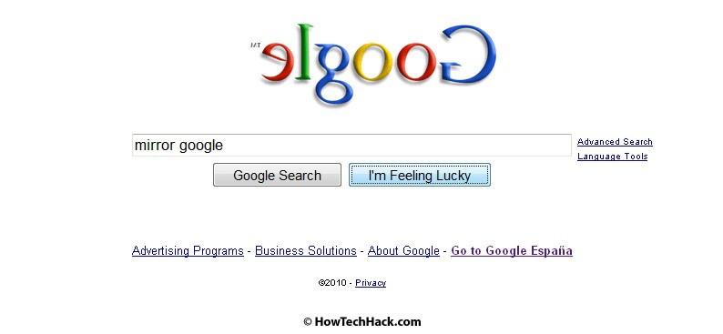 Google Zero Gravity Inversion