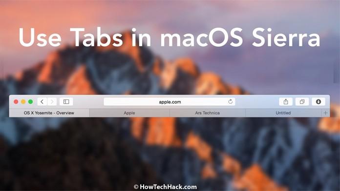macOS high Sierra Features