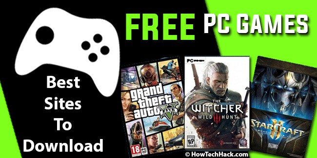Best Sites To Download Free PC Games