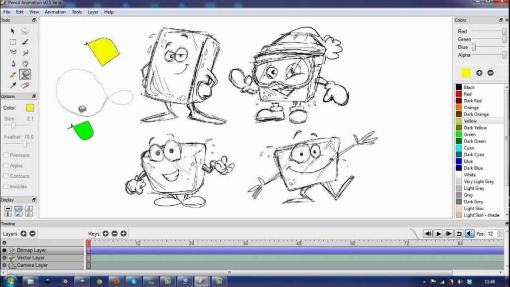 pencil animation software