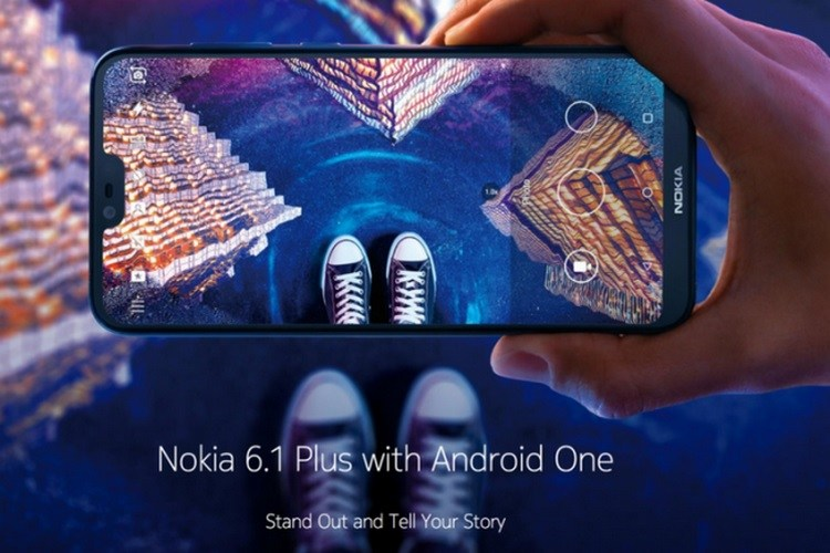 Nokia 6.1 Plus Launched with Android Oreo, 4GB RAM & 64GB Storage