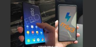 Xiaomi Mi Mix 3 Live Images Leaked, Features Extremely Thin Bezels & No Chin