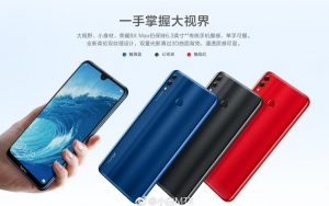 Honor 8X Max Release Date