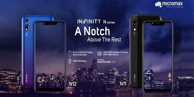 Micromax Infinity N11 & N12